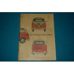 1964 Volkswagen DLX Transporter type 2