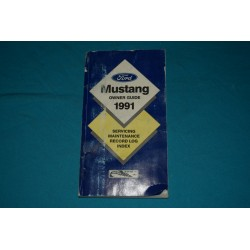 1991 Ford Mustang owners manual