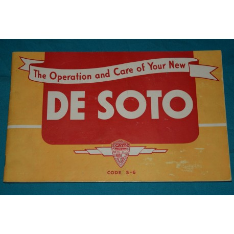1939 Desoto S-6