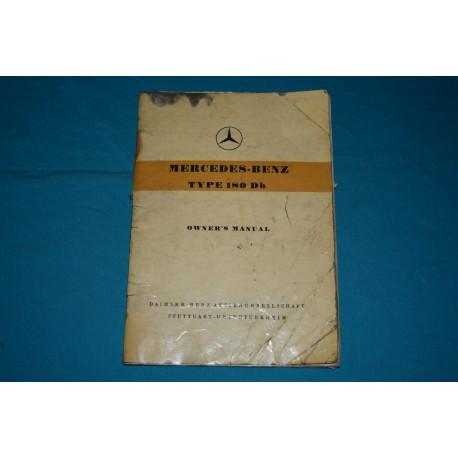 1960 Mercedes-Benz 180Db