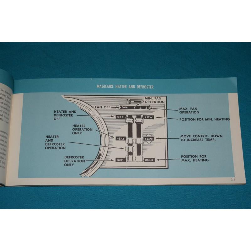 Original 1966 Ford Falcon    Ranchero Owners Manual