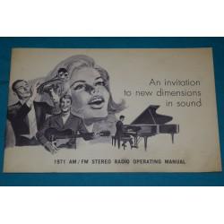 1971 FoMoCo AM/FM Radio