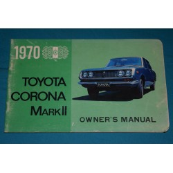 1970 Toyota Corona Mark II ( Early )