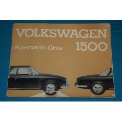 1964 Volkswagen Karmann Ghia Type 34