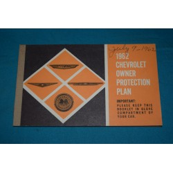 1962 NOS Owners protection Plan
