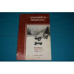 1964 Willys Jeep Universal CJ-5 / CJ-6 / CJ-5A / CJ-6A