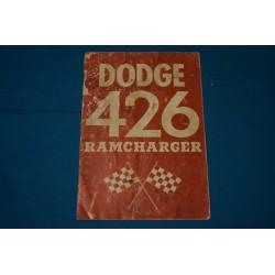 1963 Ramcharger 426