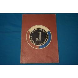 1963 Chrysler 300J Supplement