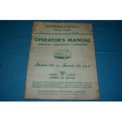 1962 International Scout-80