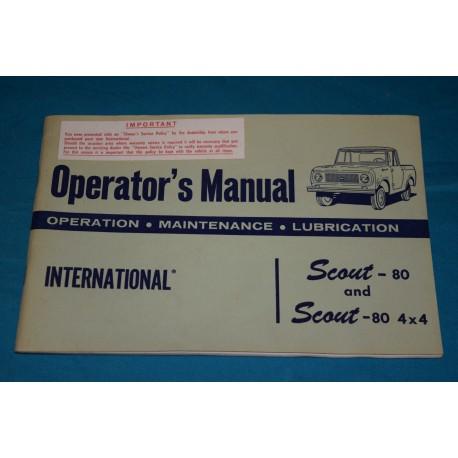 1961 International Scout-80