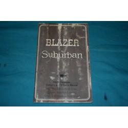 1985 Blazer / Suburban