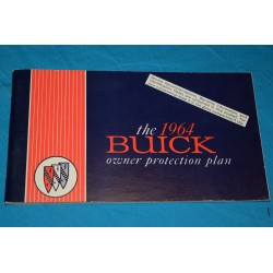 1964 Buick Owner Protection plan