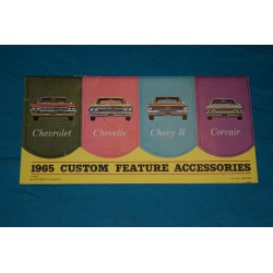 1965 Chevrolet Accessories manual