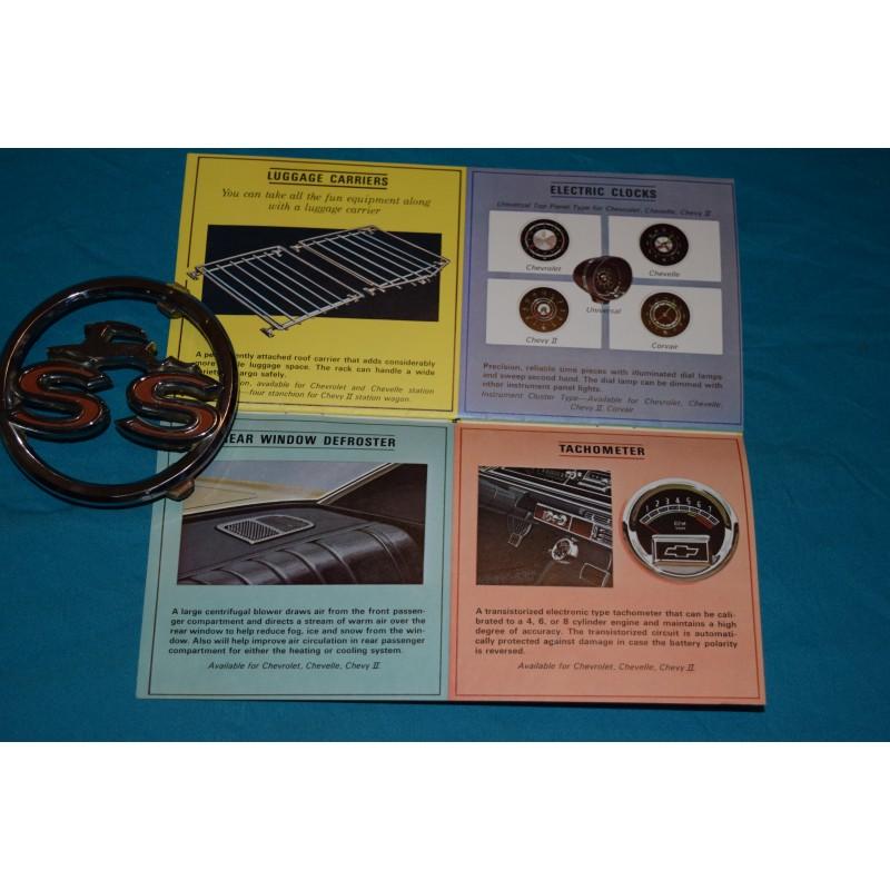 1965 chevrolet accessories manual