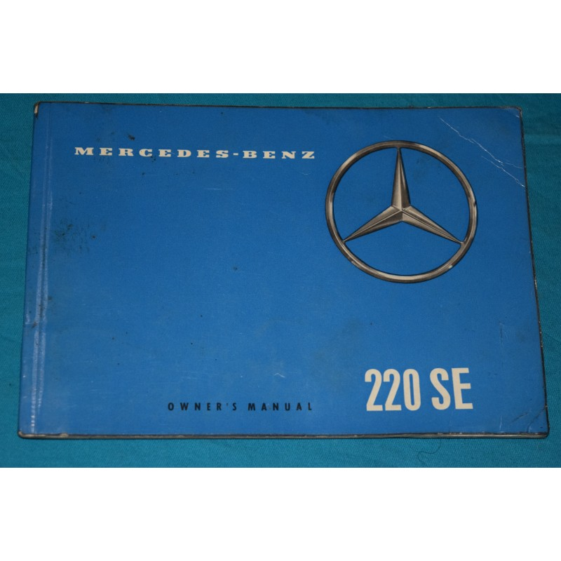 owners manual mercedes benz