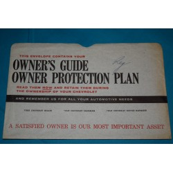 1961-1963 Owners Manual Bag