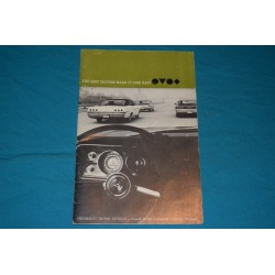 1966 Chevrolet Drivers Guide
