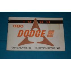 1963 Dodge 880