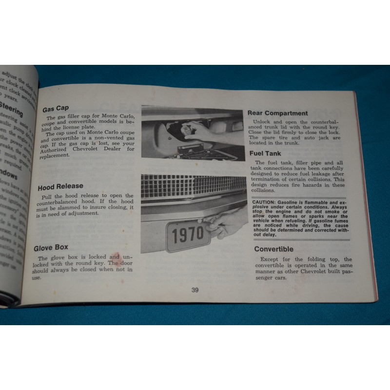 Motors Other Car Manuals research.unir.net NEW 1970-1972 Chevy ...