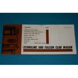 1967 Econoline / Falcon Club Wagon